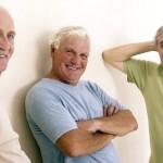 Tre seniorer