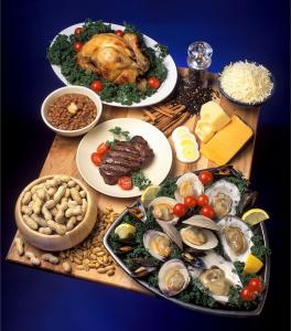 Zinkholdige fødevarer. Der er mest zink i kød og østers, hvilket gør zinktilskud særligt aktuelt for vegetarer. Denne artikel handler om relevansen for diabetikere, og derudover kan